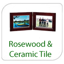 Rosewood & Ceramic Tile